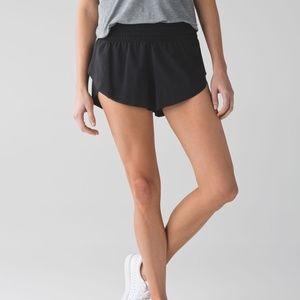 Lululemon Black Running Shorts